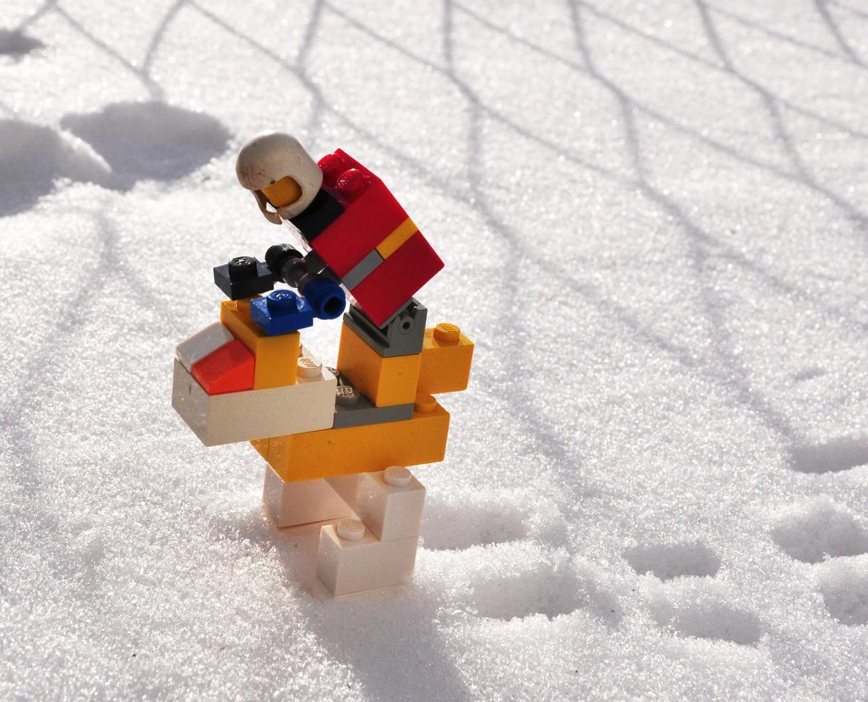 Lego biped rider